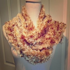 Soft Scarf | Light Brown, Tan and Cream